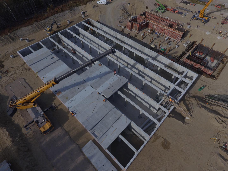 Projet de Station de traitement d'eau - ville de Baie-Comeau