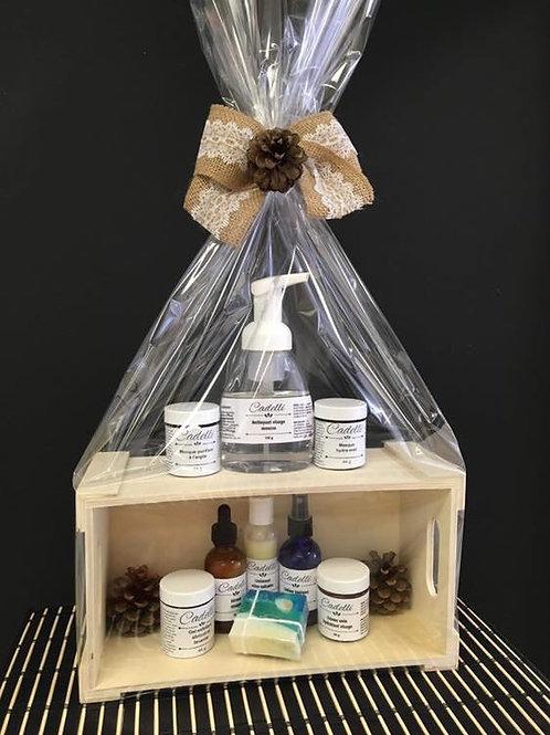 Boite cadeau (option d'emballage pour vos produits)