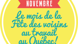 La Fête des voisins au travail se déroule en novembre