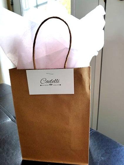 Sac-cadeau et papier de soie (option d'emballage pour vos produits)