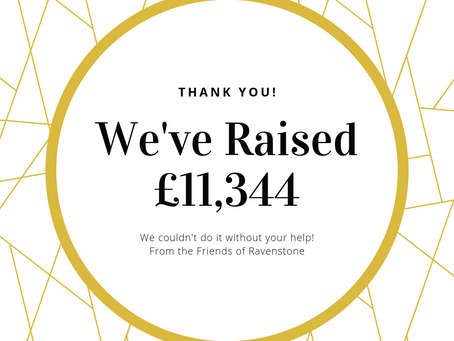 We've raised £11,344 - THANK YOU!