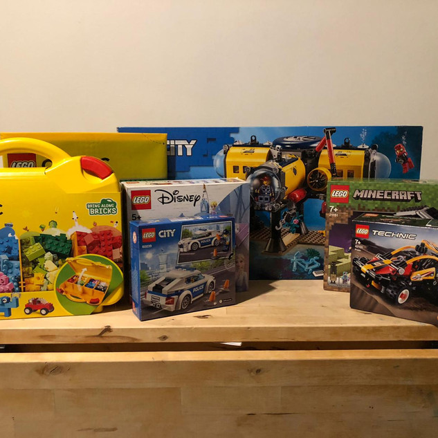 1 – Lots of Lego!