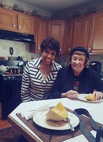 Having lunch with Jazz  Legend Shelia Jordan