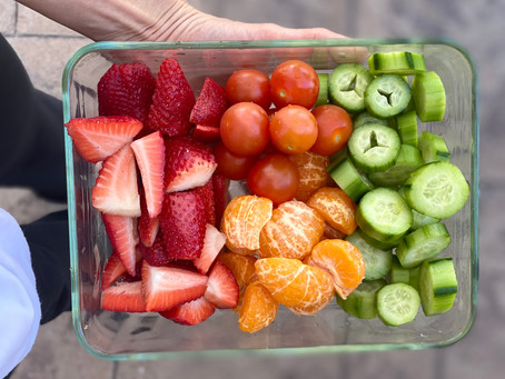 Quarantine 2020 Fruit, Vegetable, and Water Cleanse