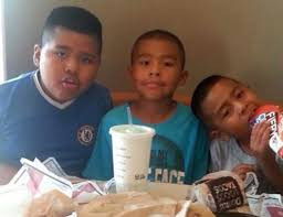 Luis 10, Juan 9 and Alex Fuentes 8-years-old, 5 prior DCFS referrals 2 abuse allegations substantiated COD: father stabbed all three sons in his car