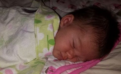 "Ellorah Rose Warner 19 Days Old COD: father Matthew Warner under influence of drugs gave her fireball then while washing her thought she was drowning and did ""crazy stuff"" to revive her including stabbing at her neck and anus with a nail file."
