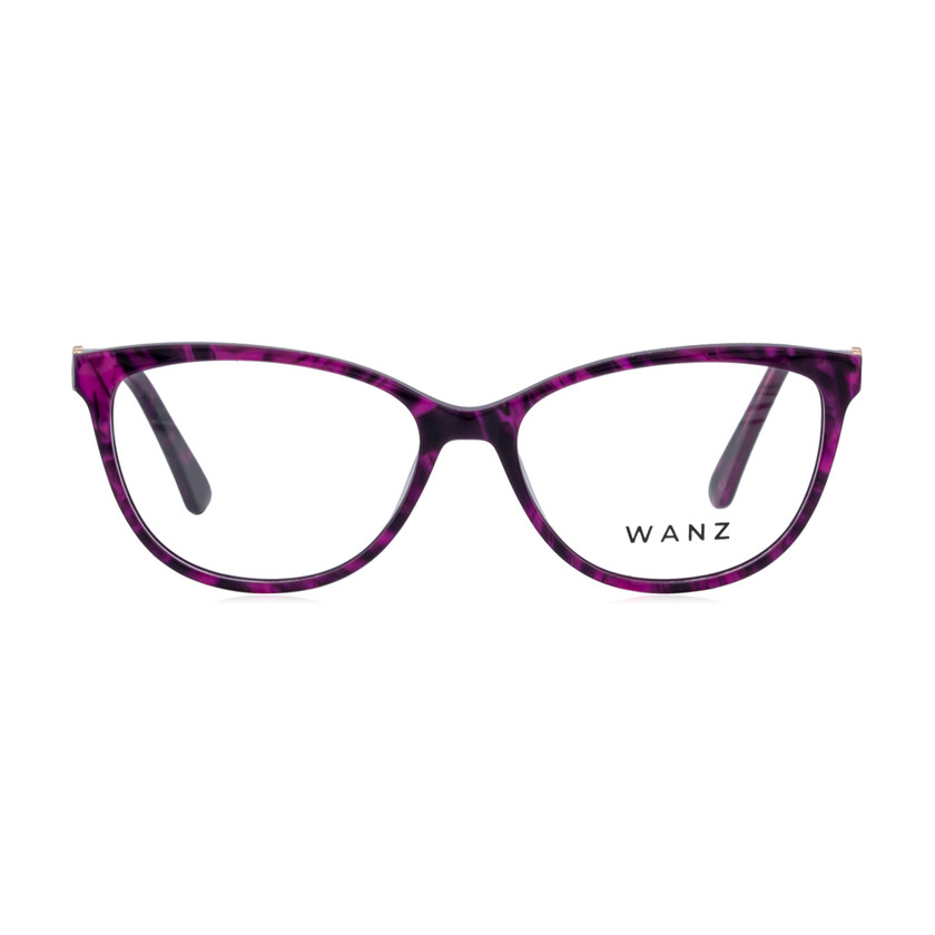Sasa Cat-Eye Acetate Eyewear, Purple