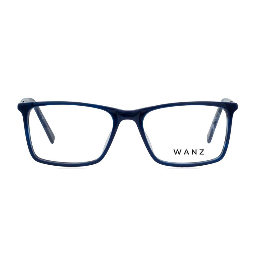 Milo Acetate Optical Frame, Navy Blue
