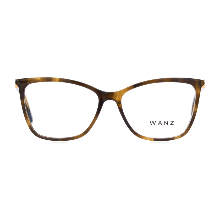 Adriana Cat-Eye Eyeglasses, Tortoise