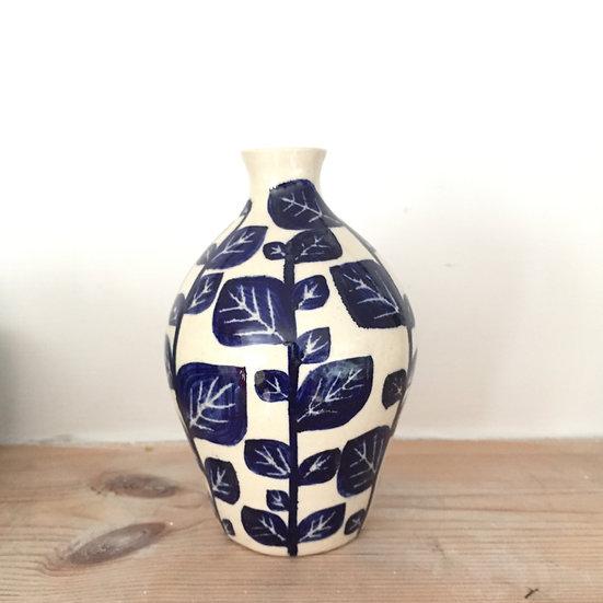 Full Leaf stem vase