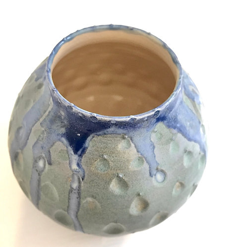 Blue shell pot