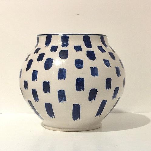Blue dash pot
