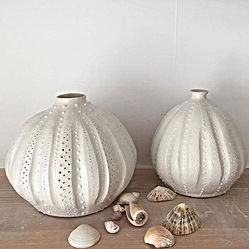 Stoneware urchin pots.jpg