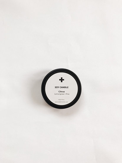 Travel Size Soy Candle - Citrus
