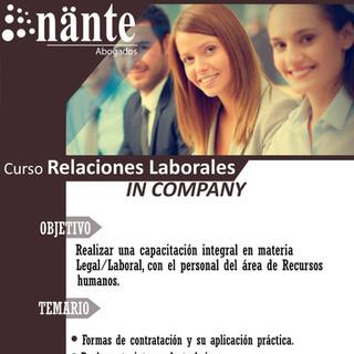 Nante_Curso de Relaciones Laborales_In C