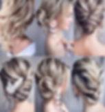 Peinados planchado ondas trenzas semirec