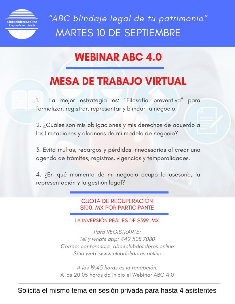 Webinar ABC Blindaje 4