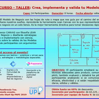 B. Curso Taller_Crea implementa y valida