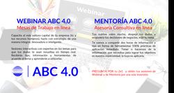 Webinar y Mentorias