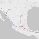 Acceso terrestre a todo México