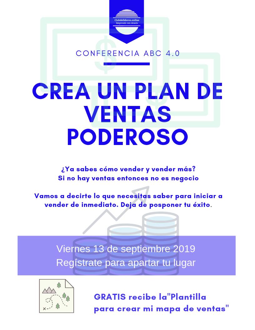 Confe_Crea un Plan de Ventas Poderoso