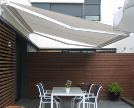toldo desplegable