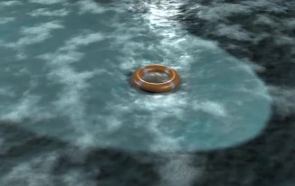 Life Ring on Water