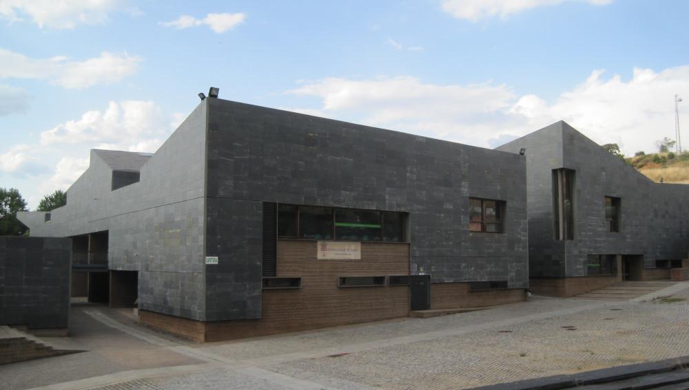 Edificio de la biblioteca del Campus Universitario ULE en Ponferrada.