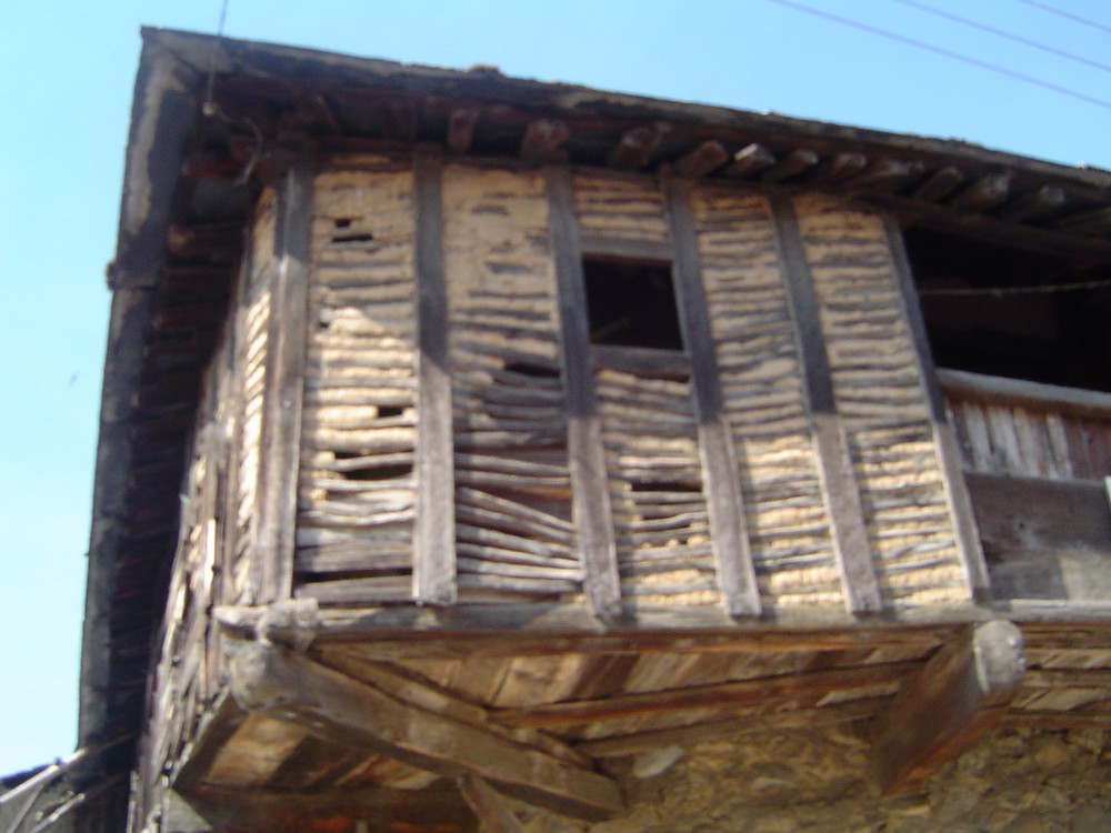 Detalle de arquitectura tradicional (El Bierzo, León)