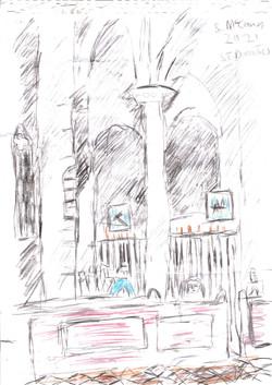 St Dominic's interior