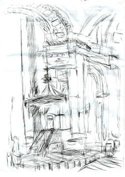Pulpit Brompton Oratory
