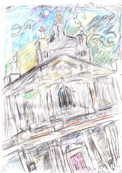 Brompton Oratory with Angels