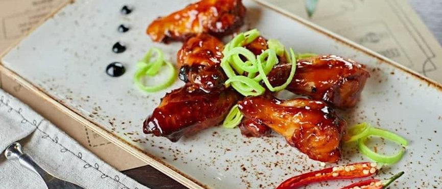 Куриные крылья по-шанхайски