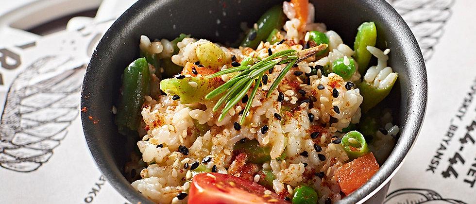 Рис с овощным соте