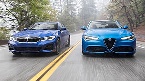 2018-Alfa-Romeo-Giulia-Q2-2019-BMW-330i-