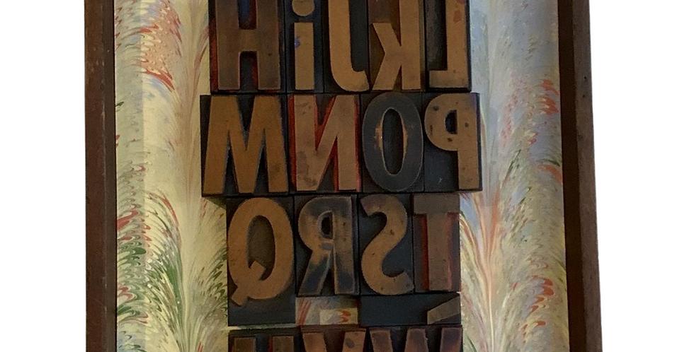 Alphabet Wood Type Collage
