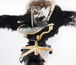 The chairman, acrylic on canvas, 180x200cm, 2015