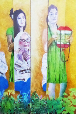 Wisdom's daughters installation