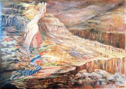 אשה במדבר