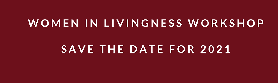 SAVE THE DATE WOMEN IN LIVINGNESS WORKSH