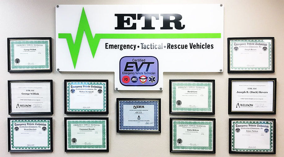 ETR EVT certified facility.