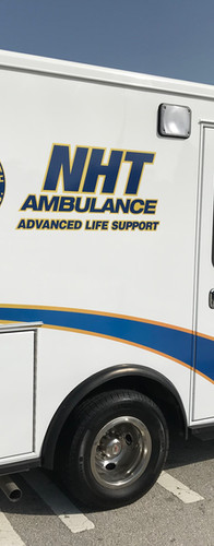 National Health Transport Ambulance ALS