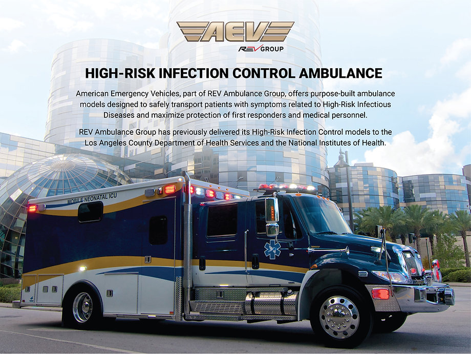 AEV Infection Control Unit