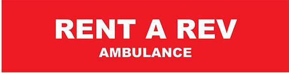Rent a Rev ambulance.