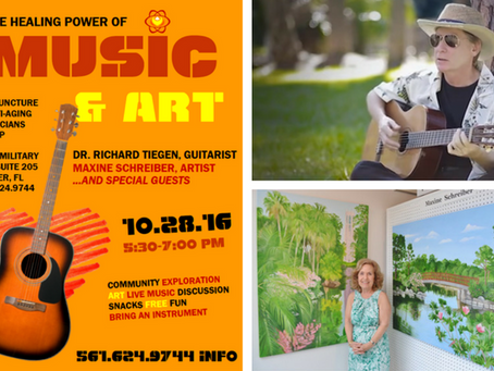 Upcoming Event: Friday Night Live!: The Healing Power of Music & Art