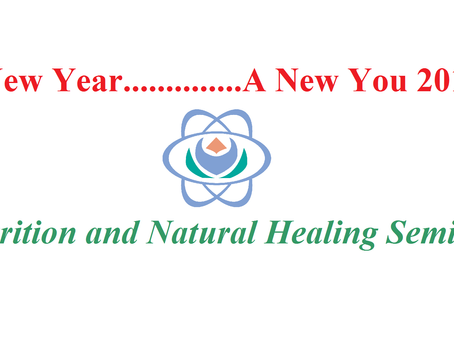 We're hosting a Nutrition and Natural Healing Seminar!