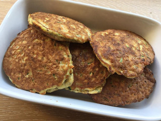 EGG AND VEGETABLE FRITTERS