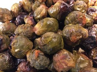 SLOW ROASTED BRUSSEL SPROUTS