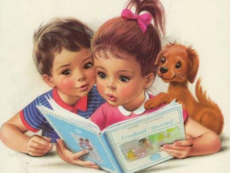 Книги детства - верные друзья!