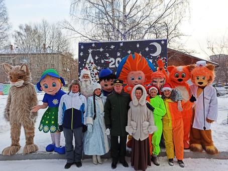 Новый год в Екатеринбургском Детском доме-интернате для умственно-отсталых детей